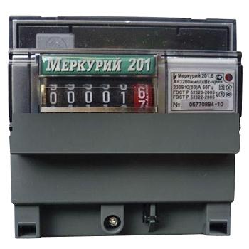 Электросчетчик меркурий 201 6 магнитом